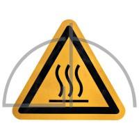 "Aufkleber ""heiße Oberfläche""nach BGV A8, ASR A1.3, DIN 4844"