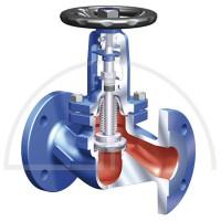 Ari Faba Dampfventil  DN 125 - PN 16; Werkstoff: EN JL 1040 (GG 25)