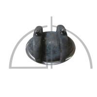 Kopflochdeckel P265GH; 220/320mm Li-Nennweite; 13bar/195°C; Hochkantring 90/15mm