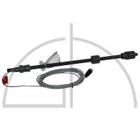 Sauglanze m. 2-Stuf.Niveauschalter PVC Schlauchanschluss 4/6, 6/8, 6/10, 6/12 mm Baulänge 540 mm mit Stecker für Trockenlauf