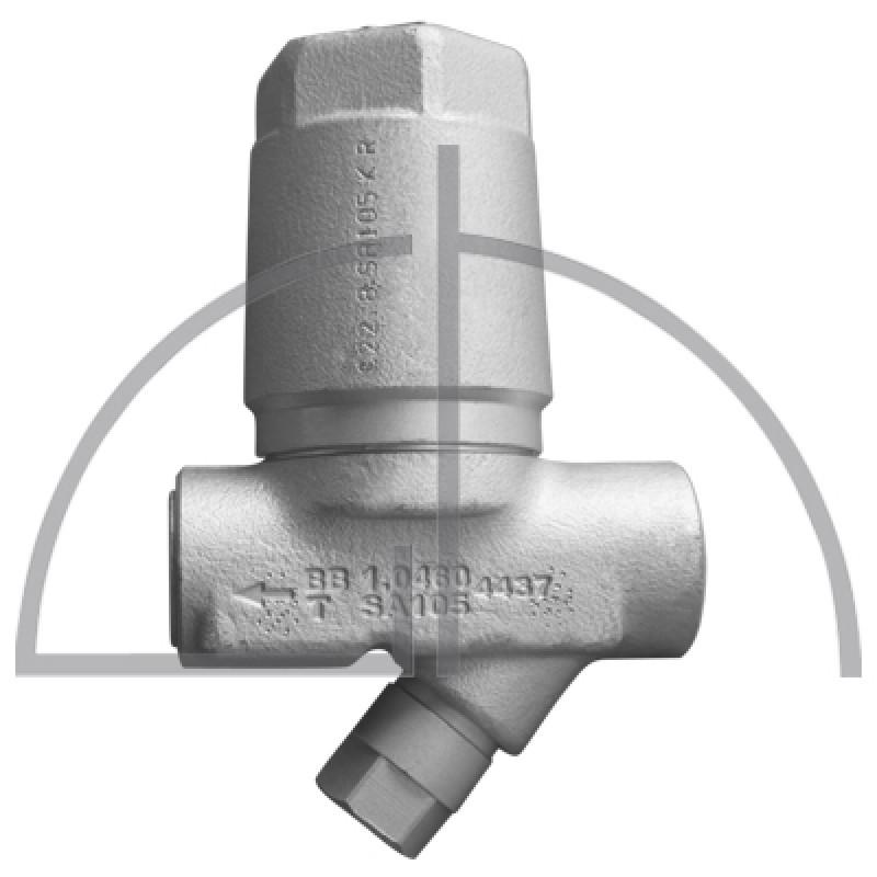 "ARI-CONA B Bimetall Kondensatableiter 1.0460 1/2 "" PN 40 R13 mit Y-Sieb"