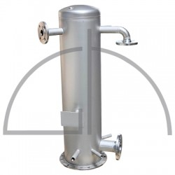 Edelstahl - Rieselentgaser 0,5 - 2,5 m³/h
