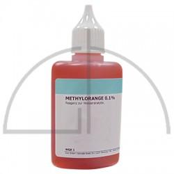 Methylorangelösung 0,1 %; 50 ml