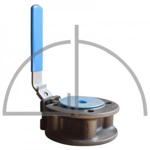 Stahl Kompakt - Flanschkugelhahn DN 15, PN 16 - 40
