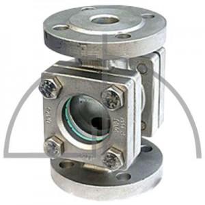 Durchfluss-Schauglas DN 15 PN 40