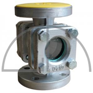 Durchfluss-Schauglas DN 40 PN 16