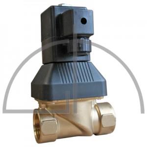 """Magnetventil 1 1/4"""" 0 - 10 bar, max. Temperatur 90 Grad, Typ 6213 mit NBR Dichtung, 230V-18W"""