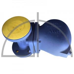 ARI-CONA S Schwimmer Kondensatableiter EN-JL1040 DN 40 PN 16 R2 ZL links horiz.