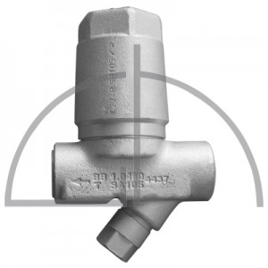 ARI-CONA B Bimetall Kondensatableiter 1.0460 DN 15  PN 40 R13 mit Y-Sieb