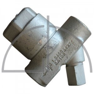 ARI-CONA B Bimetall Kondensatableiter 1.0460 DN 15  PN 40 R22 mit Y-Sieb