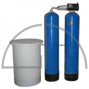 """Enthärtungsanlage (Duplexanlage) Typ VAD 60 WMFE 1""""  - max. 2,4 m³ / h vollautomatisch wasserzählergesteuert"""