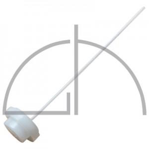 Einsatz für Schraubverschluss mit Saugrohr für Testomat 2000
