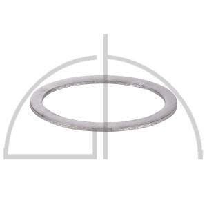 SIGRASEAL-Flachdichtung WS3860; 150 x 200mm i. O.; 15 x 4mm Rand