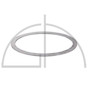 SIGRASEAL-Flachdichtung WS3860; 220 x 320mm i. O.; 25 x 4mm Rand