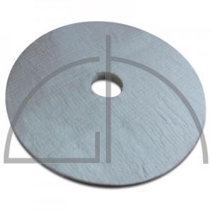 Isoliermatten-Ring Blanket feuerfest 1200/96-38 BioRing AD:495mm; ID= 80mm; Stärke= 38mm