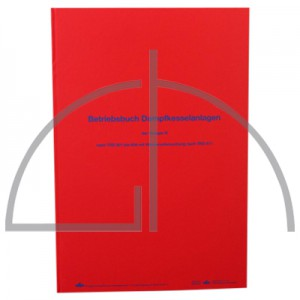 Betriebsbuch Dampfkesselanlage TRD 601 - 604