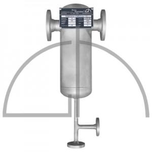 Dampftrockner DN40 PN40 P235GH