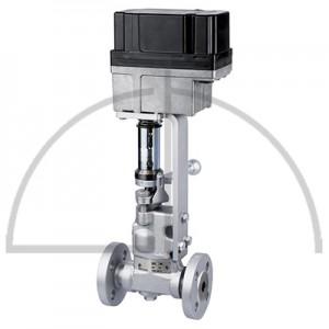 Gestra Absalz- Regulierventil mit Antrieb, Typ: BAE 46-3 K DN 15 PN 40; EF 07-1, 230 V/ 50 Hz; Anschluss: Flansche DIN 2635, Form  C