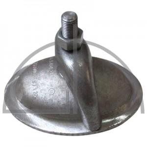 Handlochdeckel P265GH; 115/165mm Li-Nennweite; 16bar/205°C; Konischer Ring
