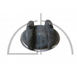 Kopflochdeckel P265GH; 220/320mm Li-Nennweite; 16bar/205°C; Hochkantring 90/15mm