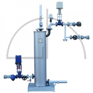 Wärmetauscherstation 600 KW für 2,5-13,0 bar(ü) Dampfdruck