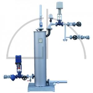 Wärmetauscherstation 1000 KW für 2,5-13,0 bar(ü) Dampfdruck